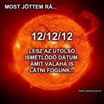 A következő bűvös dátum: 12. 12. 12. 12:12