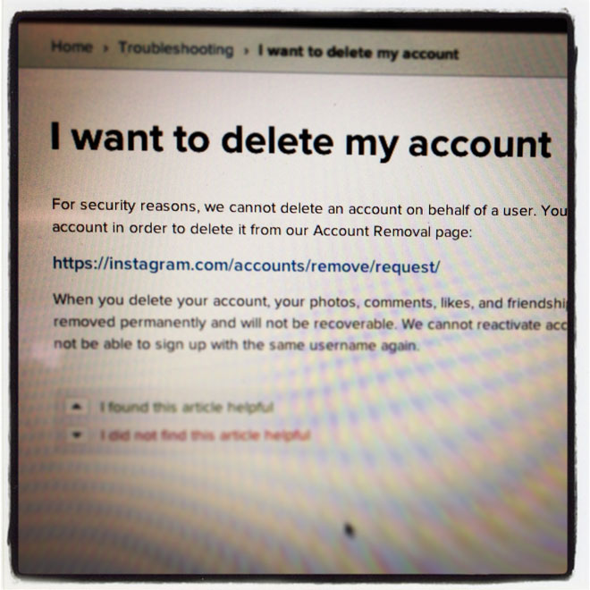 How to Download Your Instagram Photos and Kill Your Account - Wired (angol)