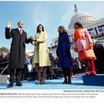 Az elnöki beiktatások történetének legkülönlegesebb képe