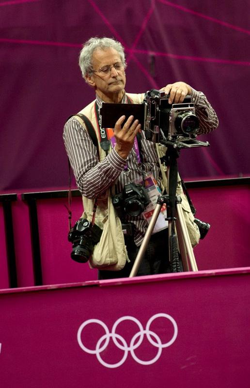 DavidBurnett-Olympic-photographer-LargeFormatCamera-photoBrianPetersonMinneapolisStarTribune