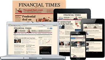Financial TImes print and digital editions illustration