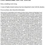 Rejtélyes YouTube hibaüzenet
