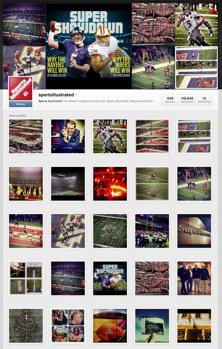 SuperBowl47-SportsIllustrated-Instagram