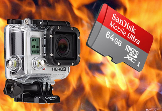 GoPro-SanDisk64GB-MicroSD-burn-fire-illustration