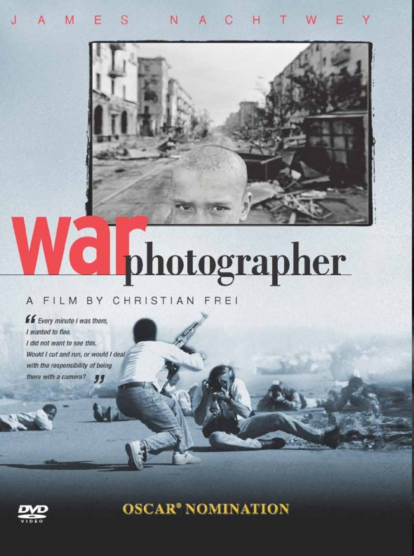 War Photographer DVD cover