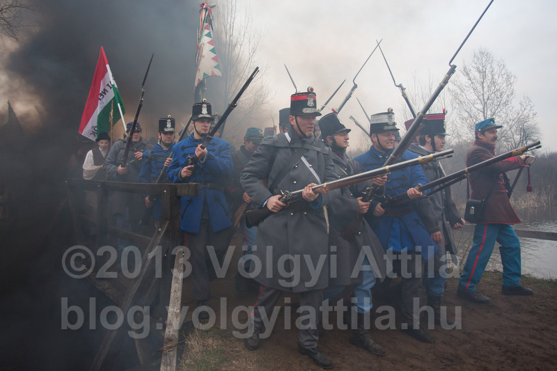 Battle of Tapiobicske re-enacted