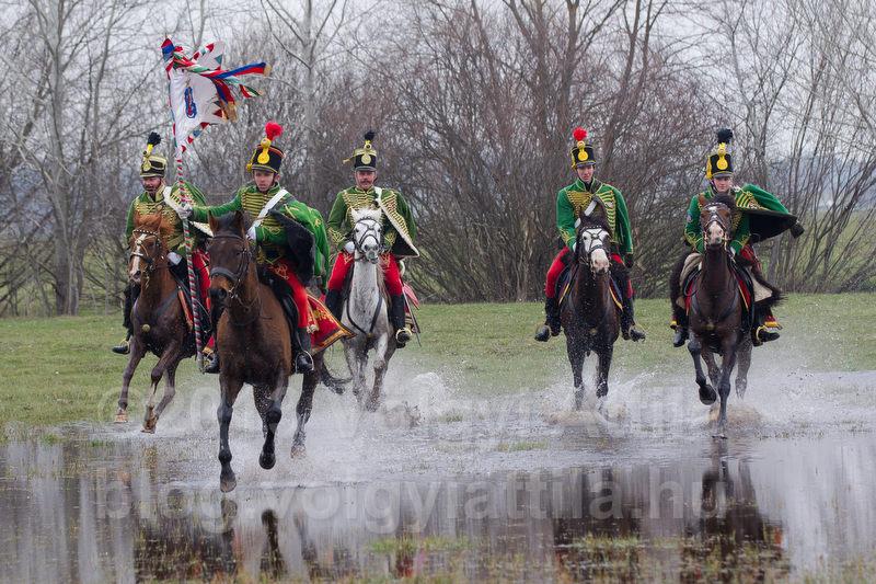 Battle of Tapiobicske re-enacted