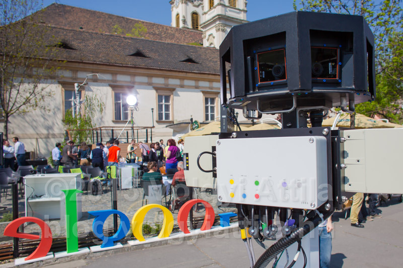 Google Street View press conference