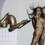 Szemérmes lett a pucéran fotózkodó táncosnő