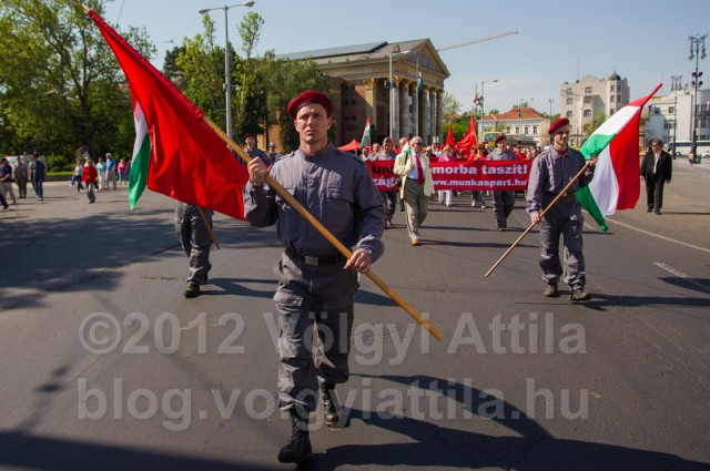Communist party Labour Day march