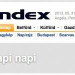 Virtuális napilapot indít az Index