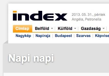 Index-NapiNapi-rovat