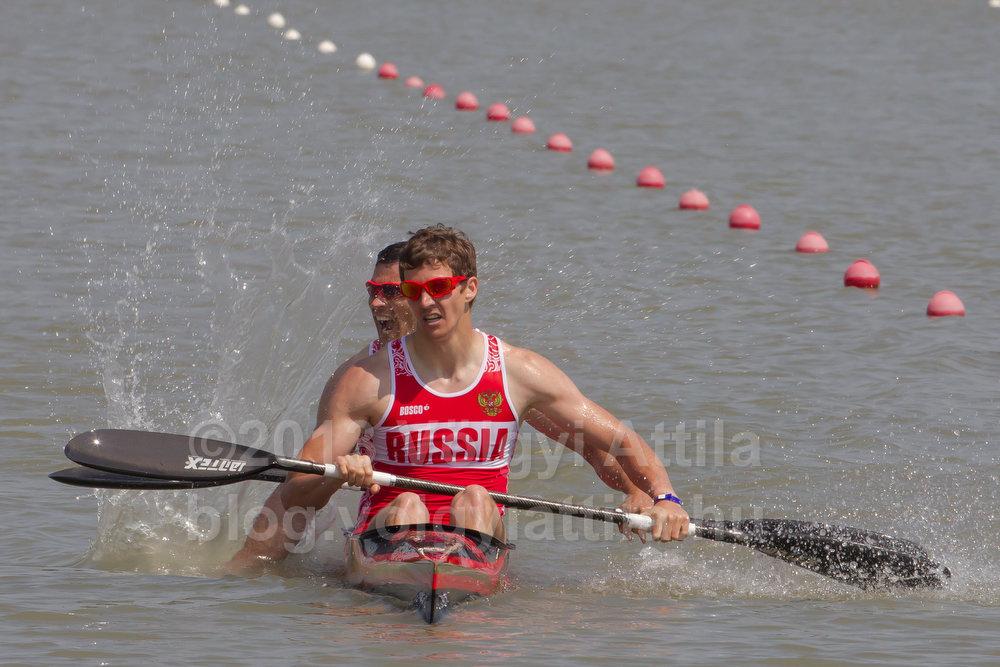Anton Ryakhov and Ilya Medvedev (RUS)