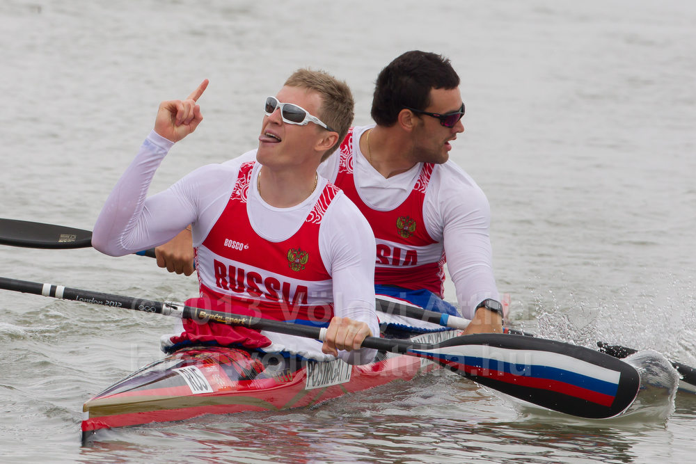 Alexander Dyachenko and Yury Postrygay (RUS)