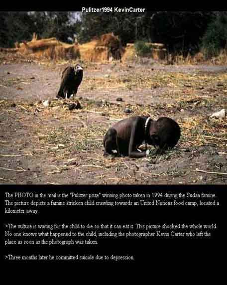 KevinCarter-Sudan-vulture-hoax