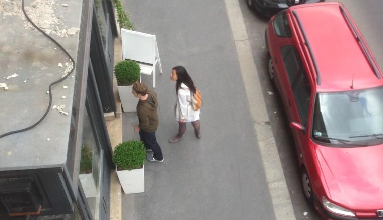 Mark Zuckerberg and Priscila Chan in Budapest, Hungary.
