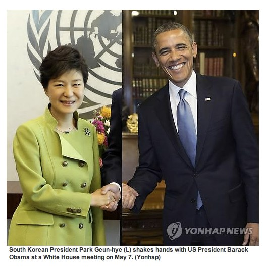 Obama-South-Korea-photoshopped-handshake-photoYonhapNews