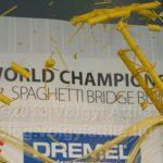570 kiló alatt tört csak a világrekorder tésztahíd