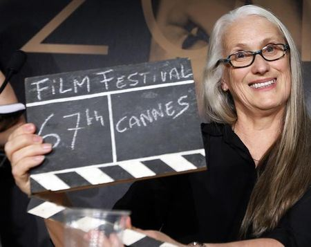 Jane Campion rendező, a 67th Cannes Filmfesztivál szakmai zsűrijének elnöke Fotó: Eric Gaillard/Reuters