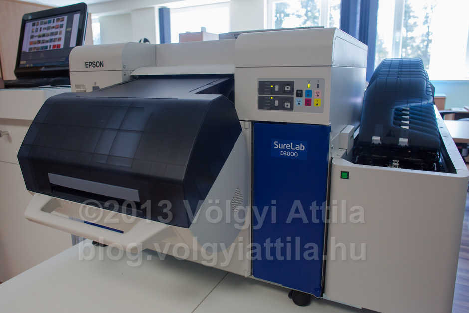 Epson SureLab photo printing machine