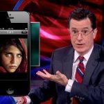Stephen Colbert viccet csinált a fotósokat leépítő újság(ok)ból