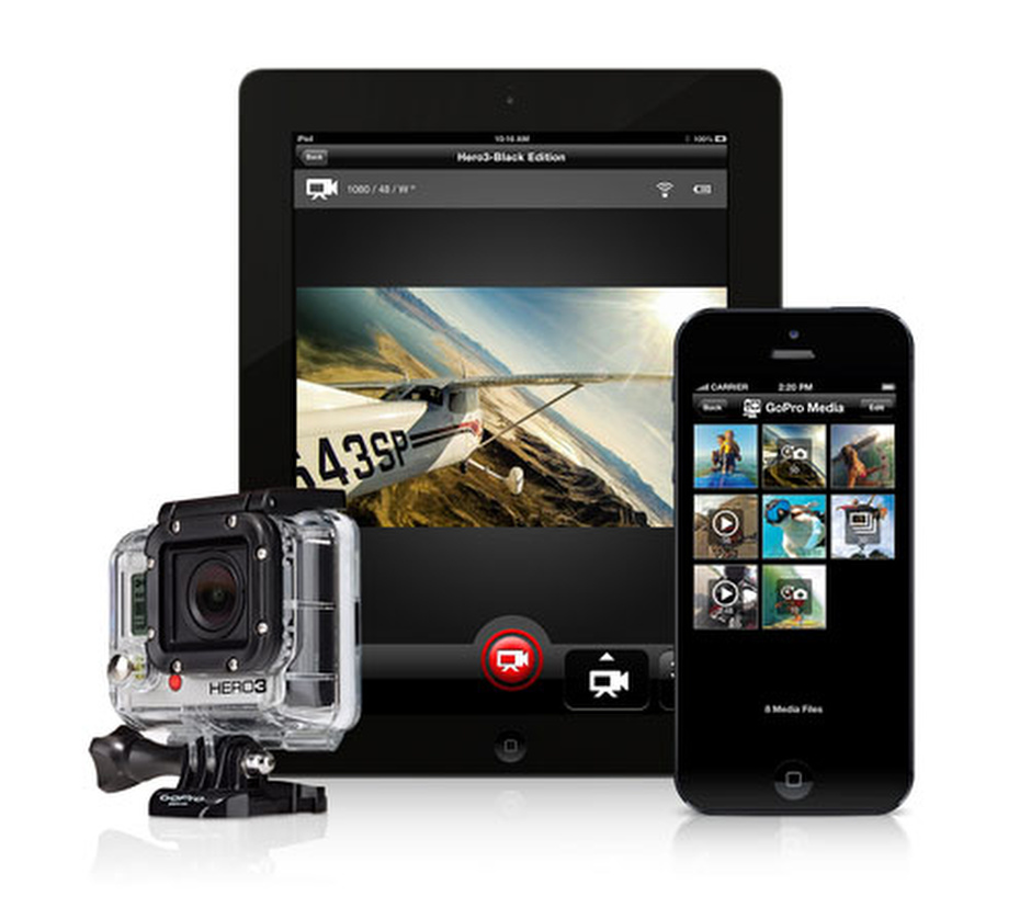 GoPro iPhone App with share now available
