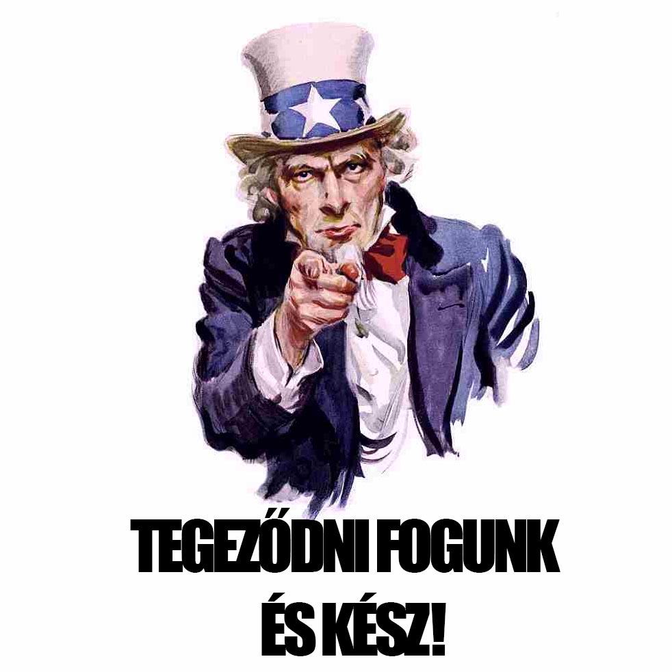 J. M. Flagg híres plakát terve nyomán szabadon