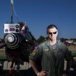 """Pilótaportrék az """"amerikai éjszakában"""" Kecskeméten"""