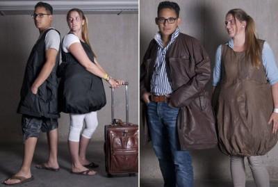 A Jakotogo kabát-táska hibrid megoldása