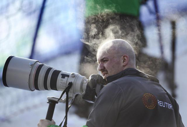 Főhet a szabadúszók feje - a főállású fotósok még biztonságban vannak - Fotó: Andre Forget/QMI agency/Reuters