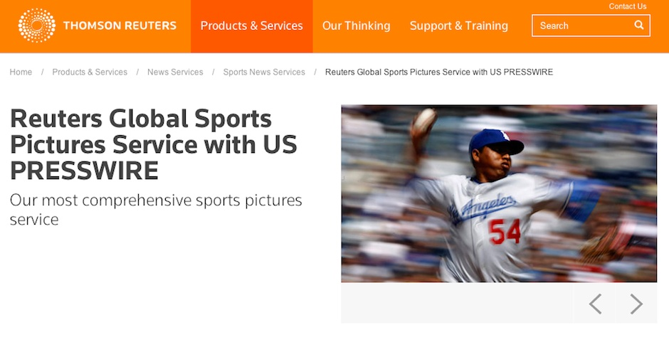 ThomsonReuters-photo-service-screenshot