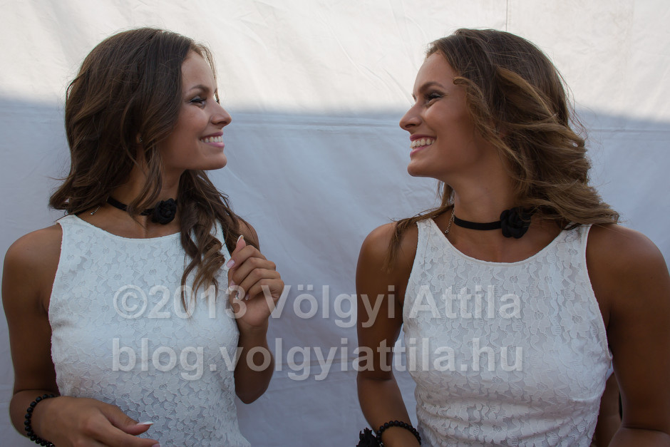 Czirok twins Melissza and Szintia (HUN)