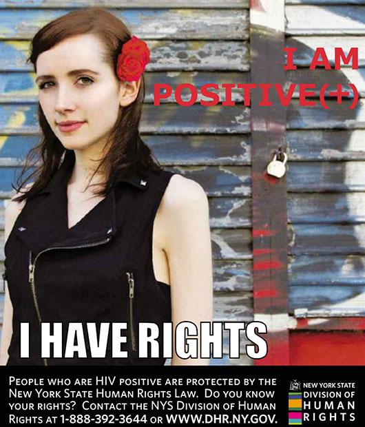 A jogvédő hirdetés, ami romokba döntötte a modell életét