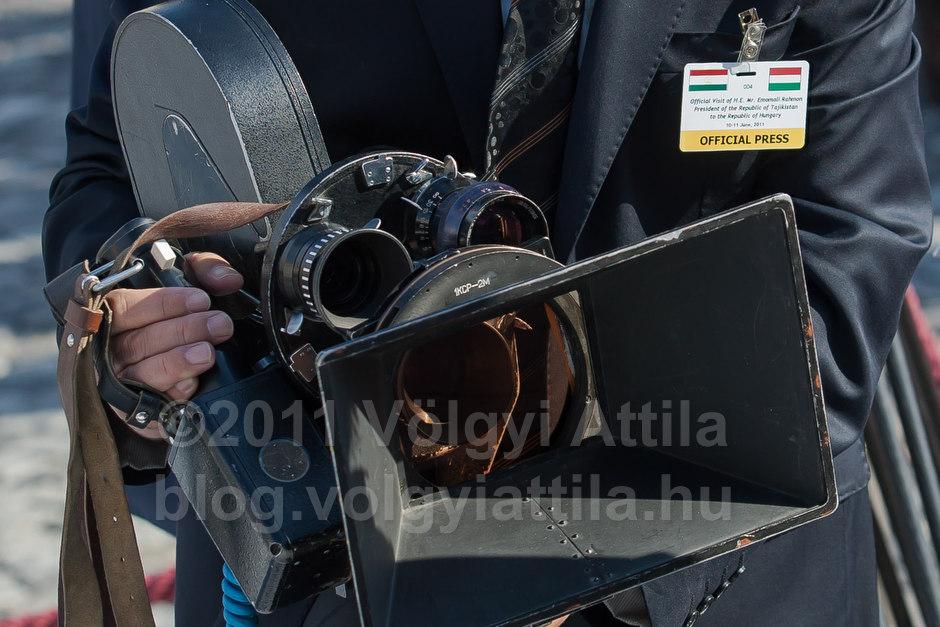 Tadzsik film kamera / Fotó: Völgyi Attila / blog.volgyiattila.hu
