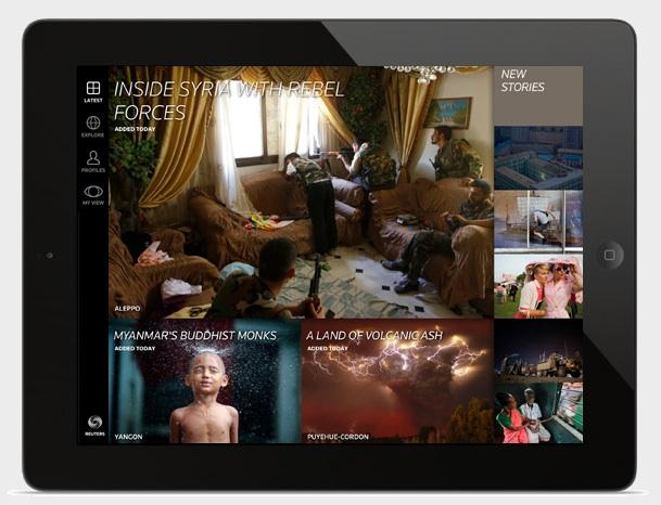 Wider Image az iPad képernyőjén