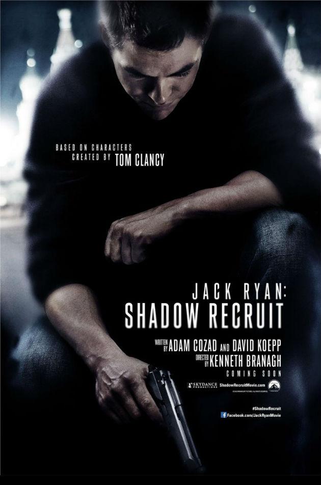 A legújabb Clancy film első plakátja