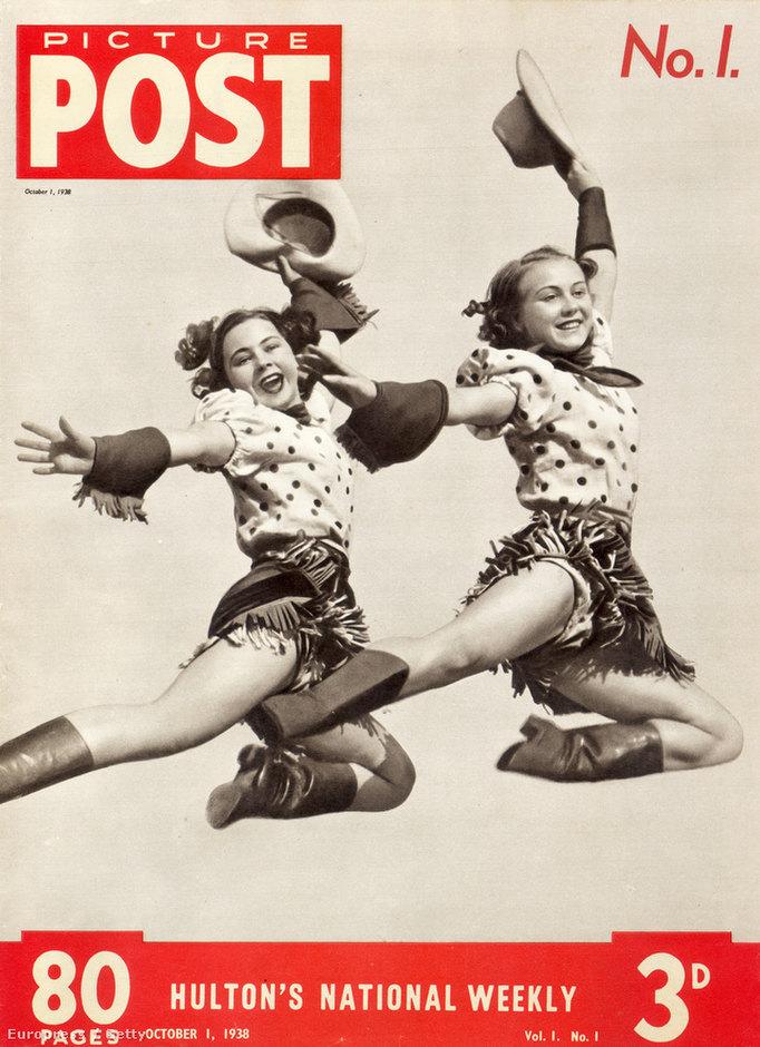 A Picture Post legelső számának címlapja, 1938. október 1.
