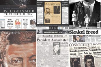 JFK50-newspaper-covers