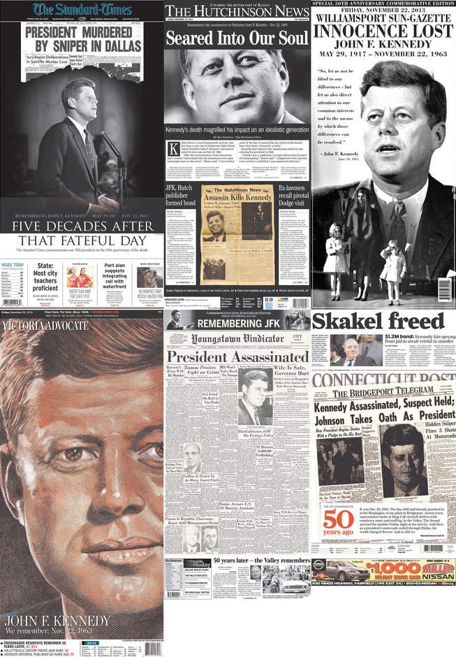 Címlapok az 50. évforduló emlékére