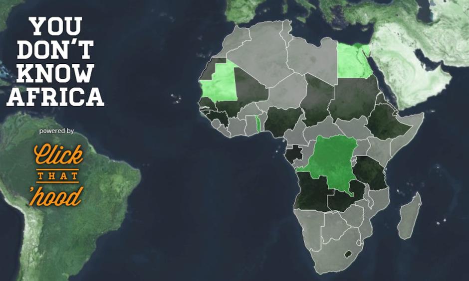 Afrika országait mind ismered?