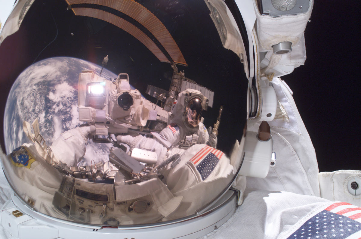 Fotó: Michael E Fossum/NASA
