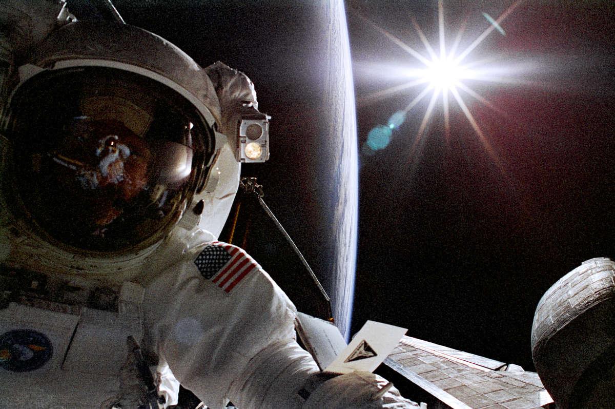 Fotó: Greg Harbaugh/NASA