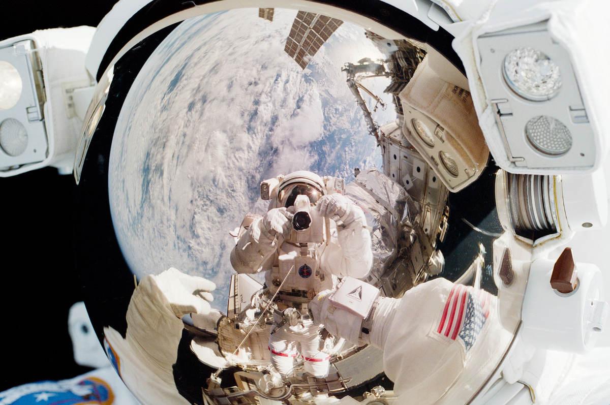 Fotó: Jeff Wisoff/NASA