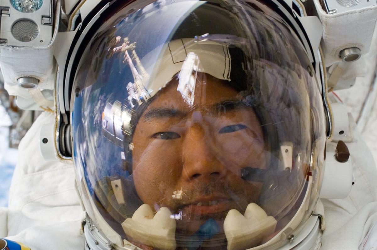 Fotó: Soichi Noguchi/NASA