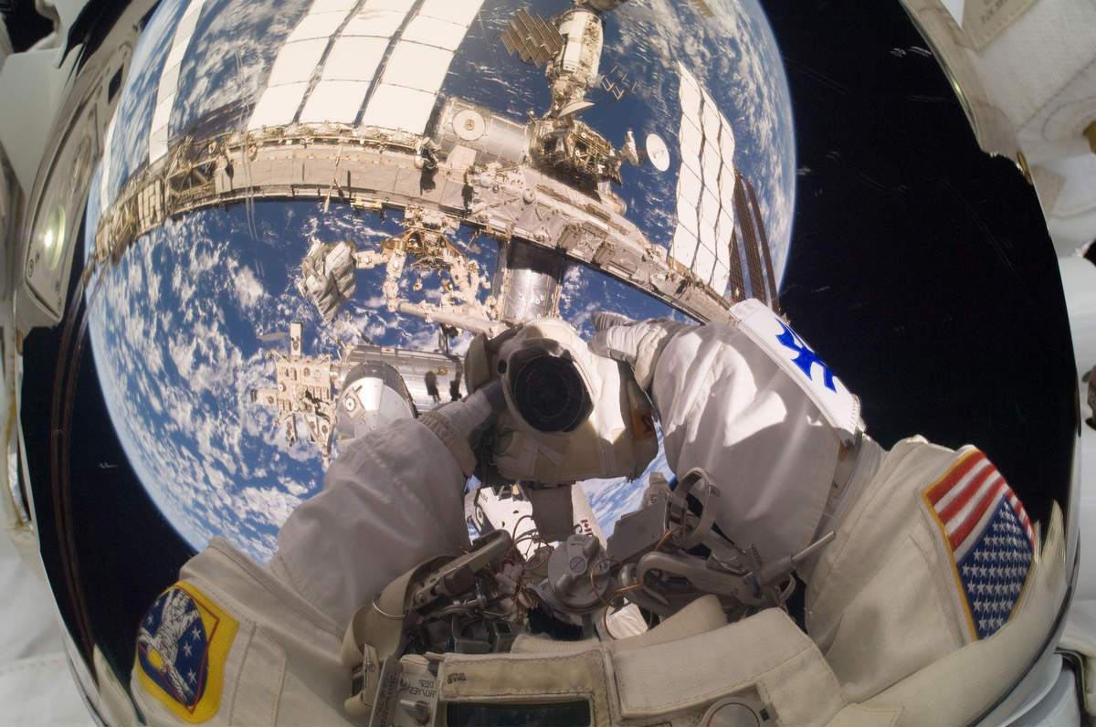 Fotó: Garrett Reisman/NASA