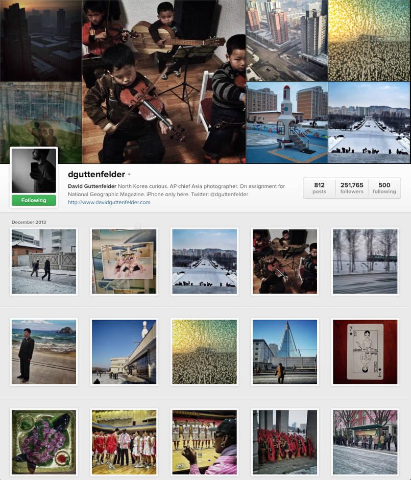 David Guttenfelder az Instagramon
