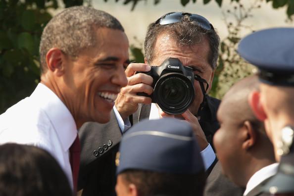 Készülnek a propaganda fotókChip Somodevilla/Getty Images