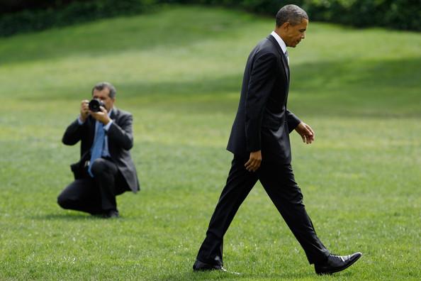 Az elnöki fotósok mindig ott vannak és megjelennek a képeik isFotó: Chip Somodevilla/Getty Images