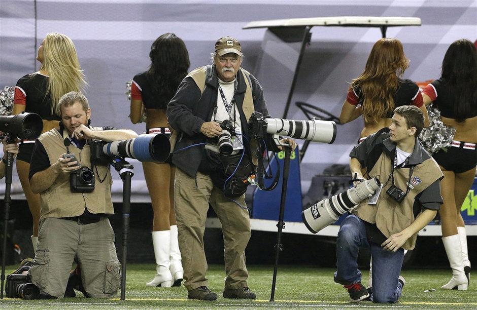 Dave Martin (középen) munka közbenFotó: John Bazemore / AP