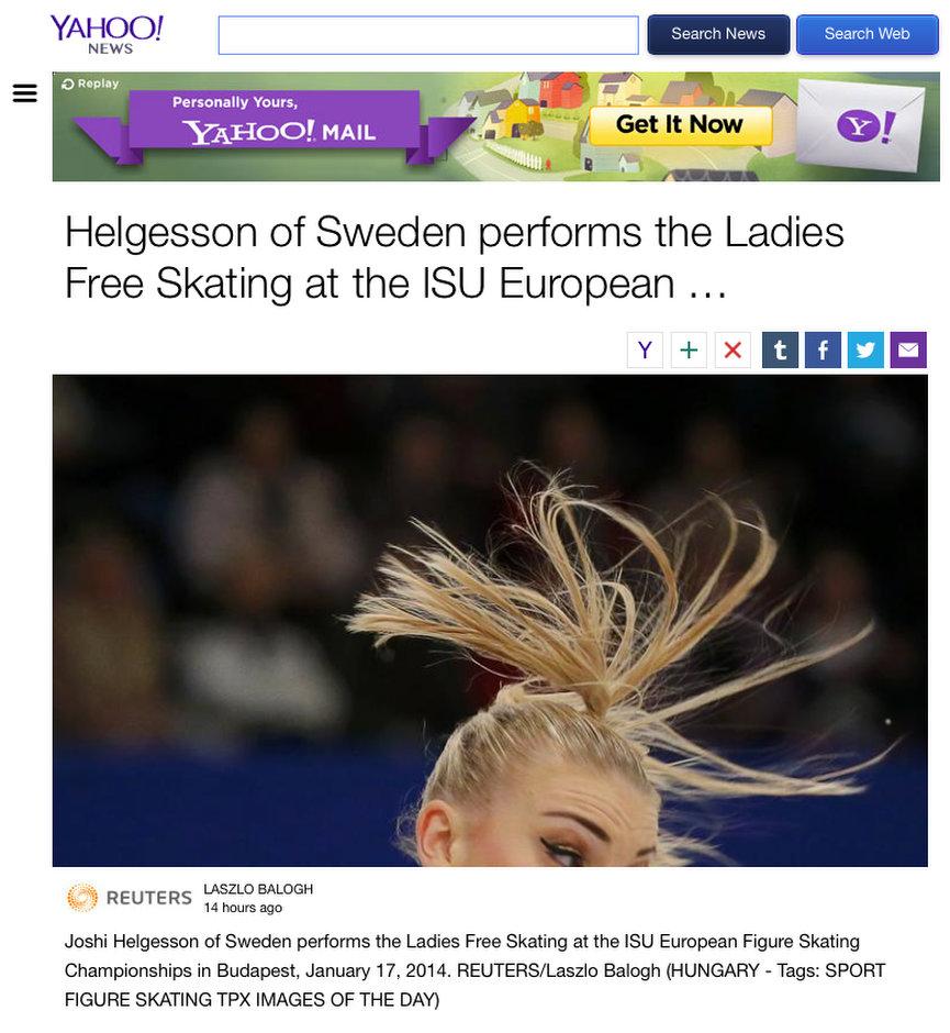 Balogh László képe a YahooNewson